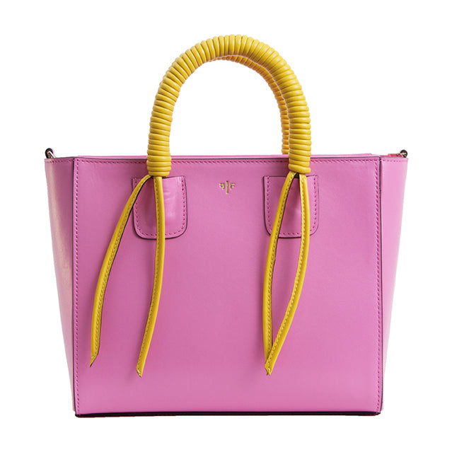 Isla Fontaine pink tote bag