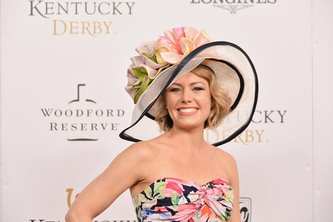 Sunny Outlook: 'Today' show meteorologist Dylan Dreyer couldn't stop the rain at Churchill Downs. (Photo by Michael Loccisano/Getty Images for Churchill Downs)