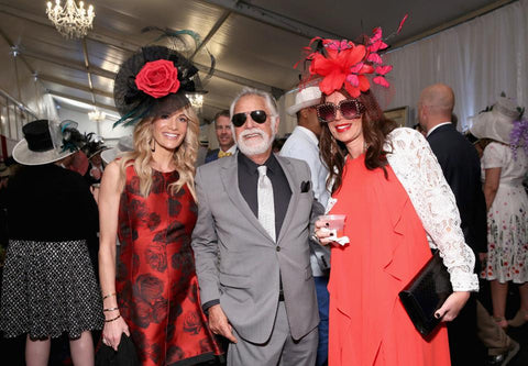 Jonathan Goldsmith (aka The Most Interesting Man in the World) attends the 2018 Kentucky Derby. (Photo by Robin Marchant/Getty Images for Churchill Downs)