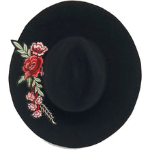 ENE ROSE WINTER HAT FEDORA