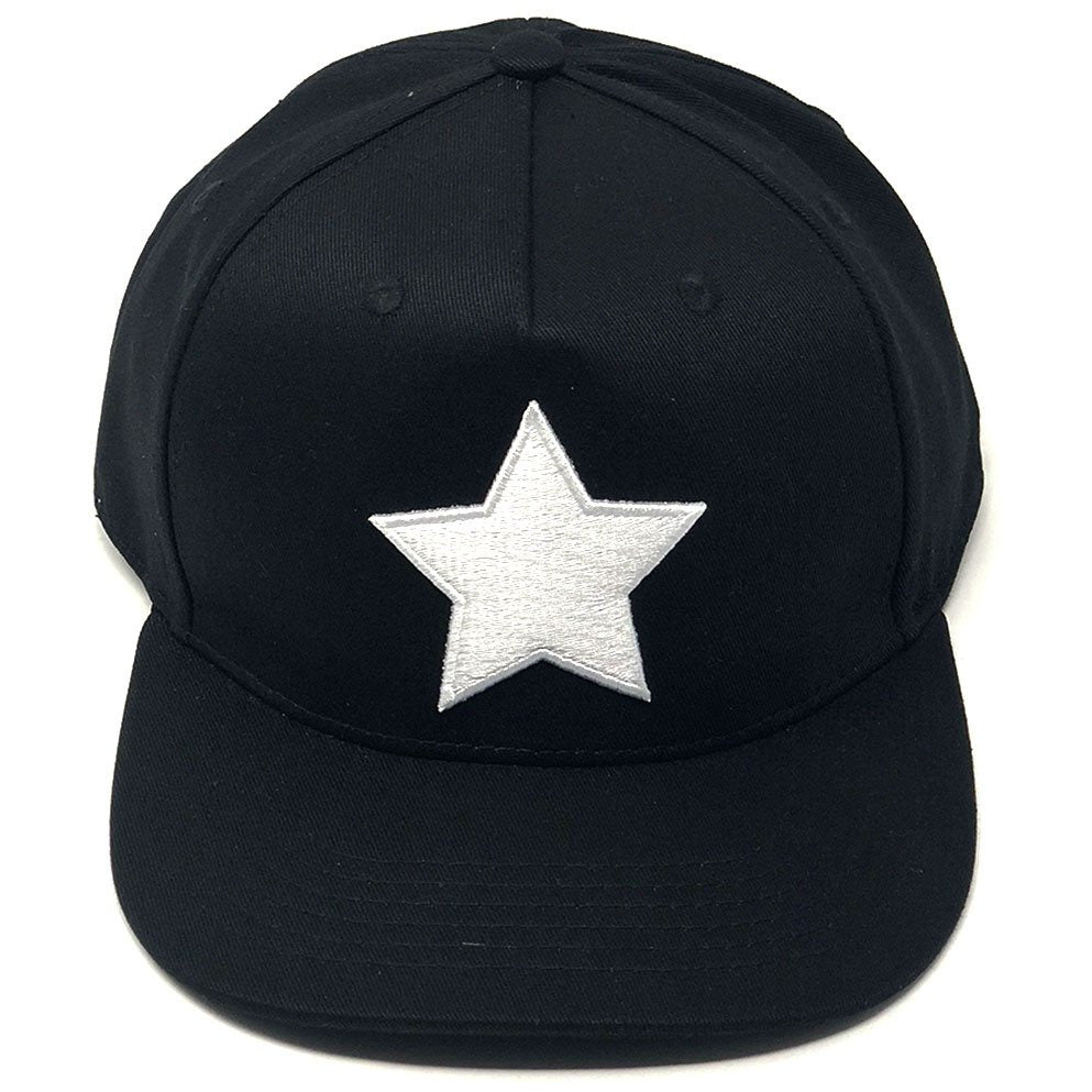 White Star Puerto Rico Black Series Snapback Cap