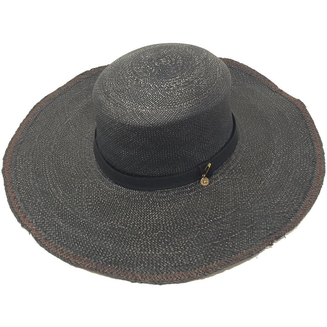 Mediterraneo Distressed Weave Hat