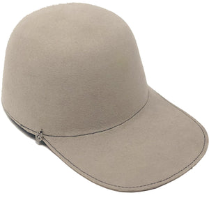 POLO CAP CREAM WINTER HAT