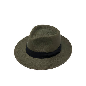 Plenero Green Genuine Panama Hat