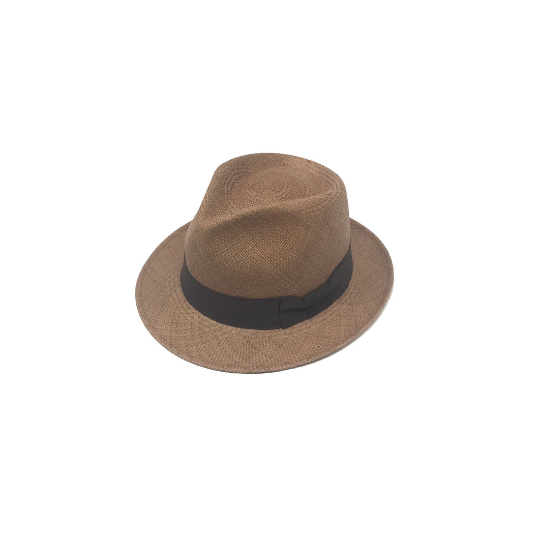 Plenero Short Brim Cafe Genuine Panama Hat