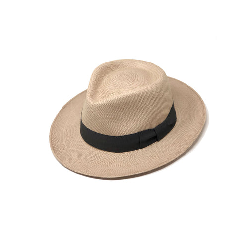 Plenero Sand Genuine Panama Hat