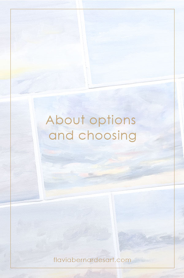 About options and choosing