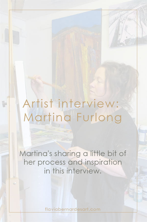 Artist interview - Martina Furlong - flavia bernardes art blog