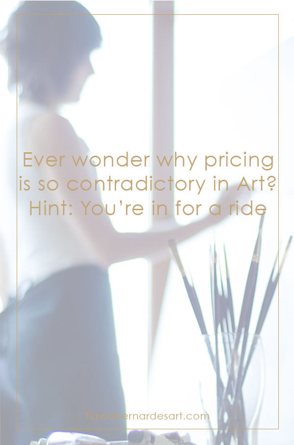 Ever wonder why pricing is so contradictory in Art? Hint: You're in for a ride