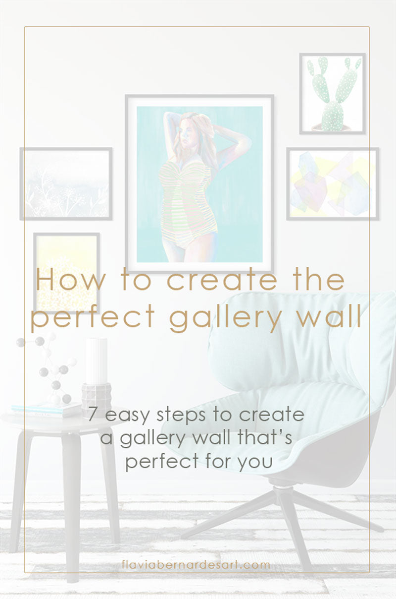 7 easy steps to create the perfect gallery wall