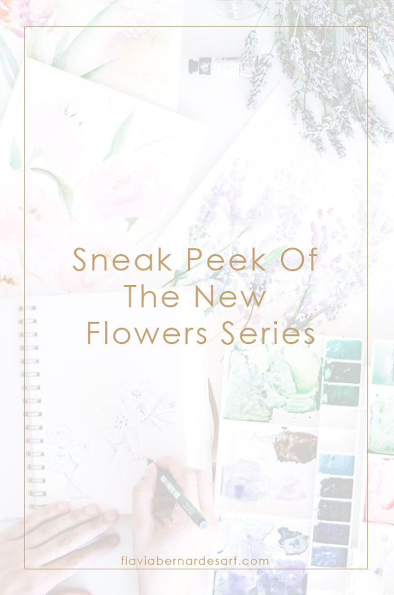 Sneak Peek Of The New Flowers Series