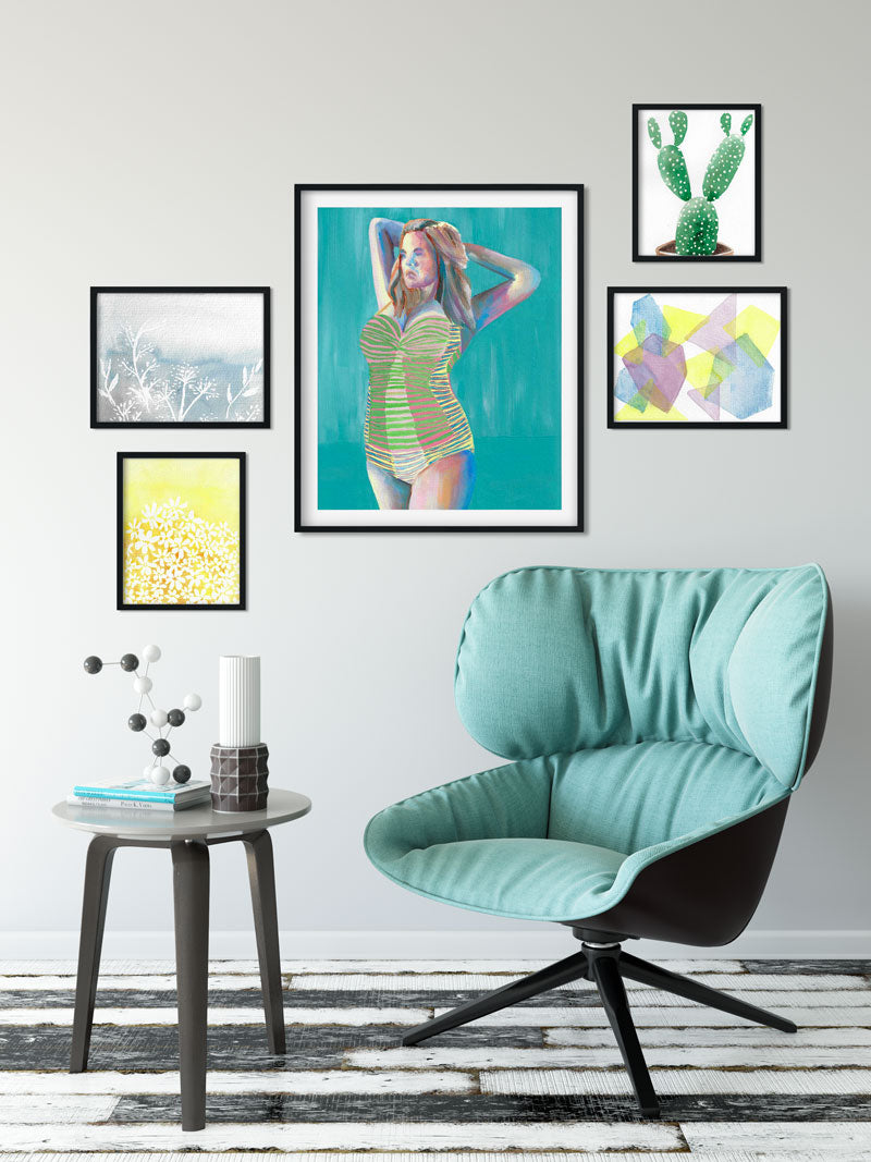 gallery wall layouts that will inspire you to create your own today