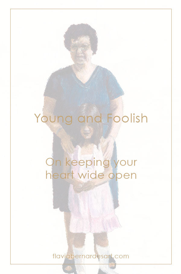 Young and foolish - flavia bernardes art blog