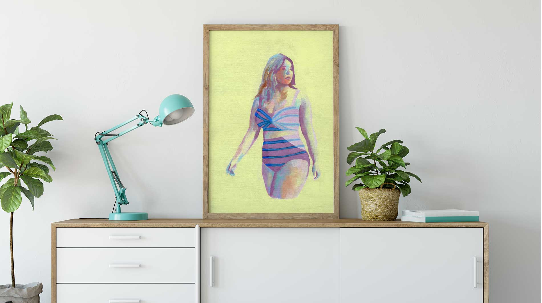 body-positive-art-original-painting-living-room-flavia-bernardes-art