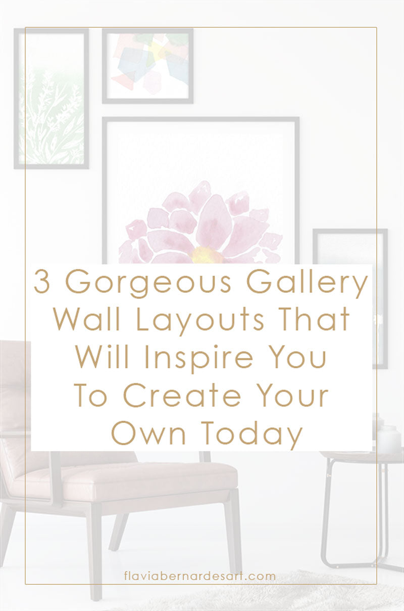 3 Gorgeous Gallery Wall Layouts That Will Inspire You To Create Your Own Today