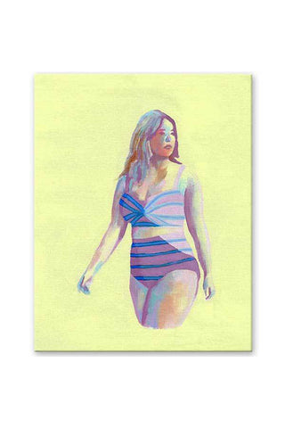 """Sun Kissed"" - Body Positive Art - Original Painting"
