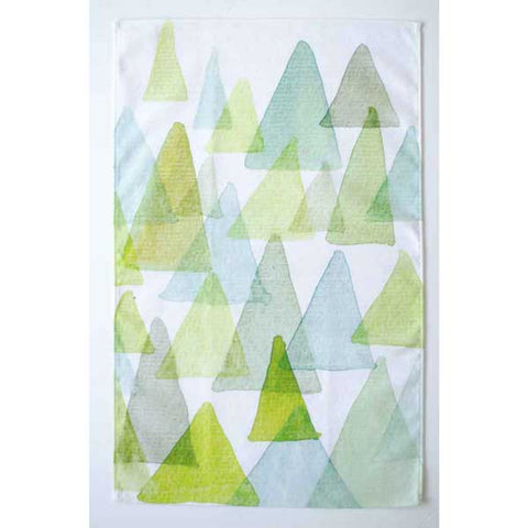 geometric-forrest-watercolor-tea-towel