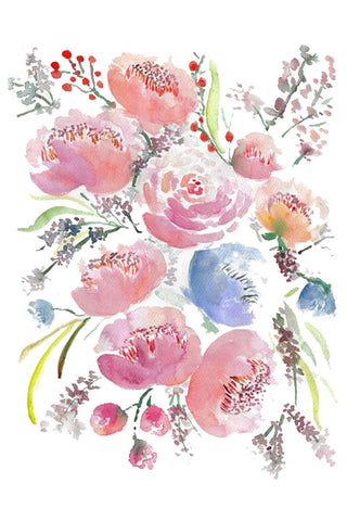 watercolor-peonies-bouquet-wall-art---flavia-bernardes-art