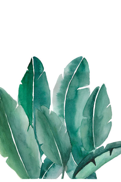 """Leaves"" original watercolor painting"