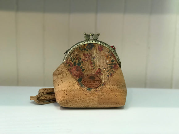 CORK BUTTERFLY PURSE