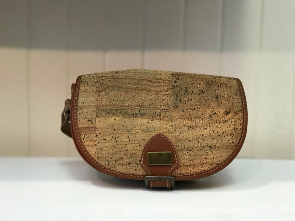 CORK SHOULDER CROSSBODY BAG