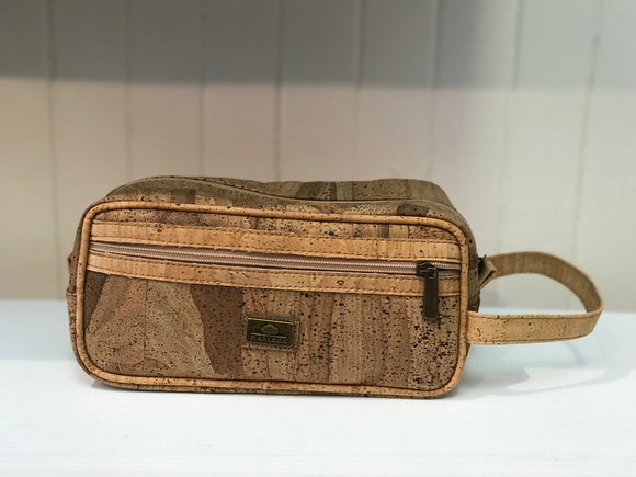 CORK MENS TOILETRY BAG
