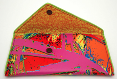 "KENT STETSON ""SPLASH"" CLUTCH"