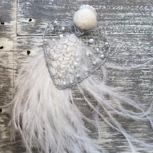 OSTRICH FEATHER ORNAMENTS