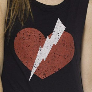 BEATING HEART MUSCLE TEE