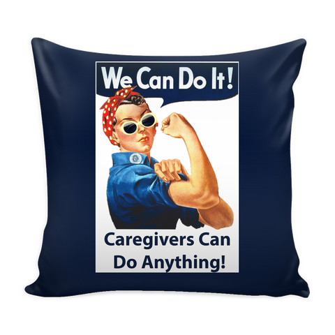 CG101 Pillow Cover: Rosie Blue