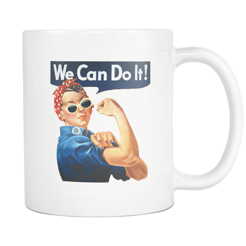 CG101 Mug: We Can Do It