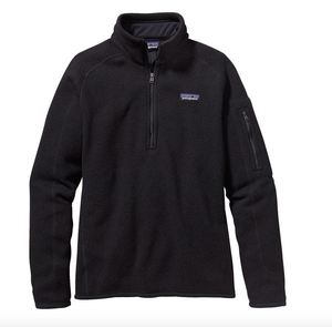 W's Better Sweater 1/4 Zip - Black