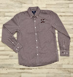 MState Gingham Plaid Button Down