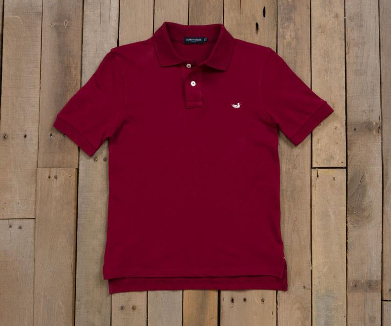 Youth Stonewall Polo - Maroon