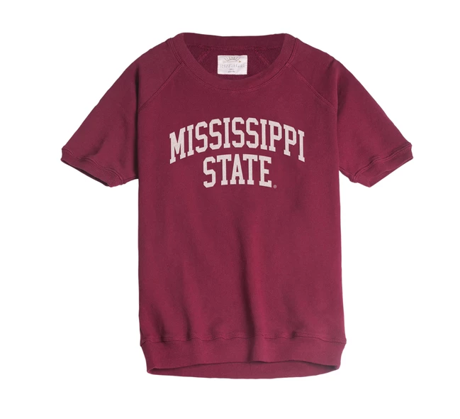 Ladies MSU Dottie SS Pullover