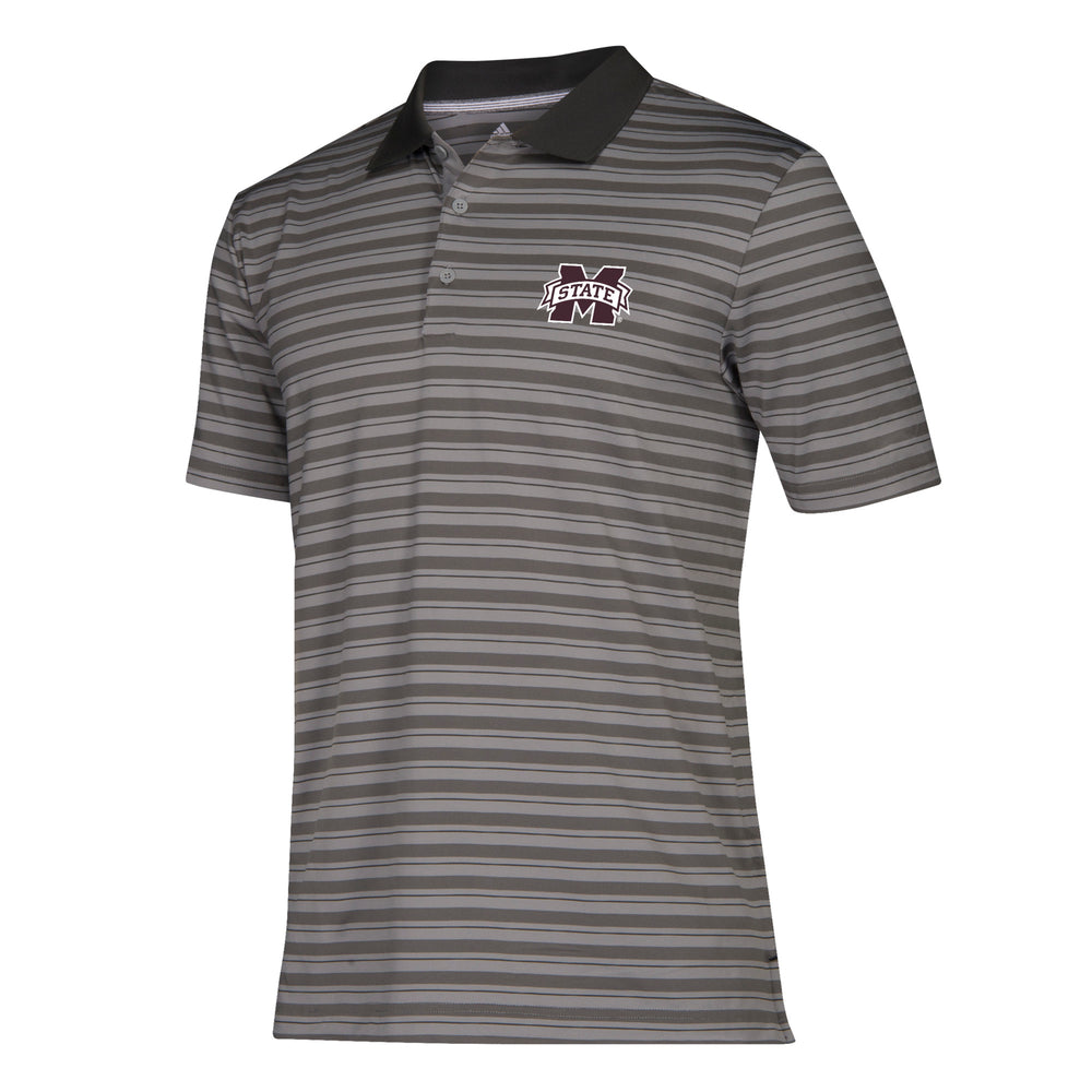 MSU Ultimate 3 Stripe Polo