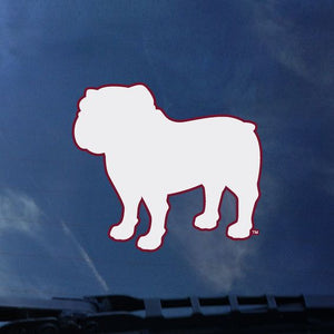 Bulldog Silhouette Decal