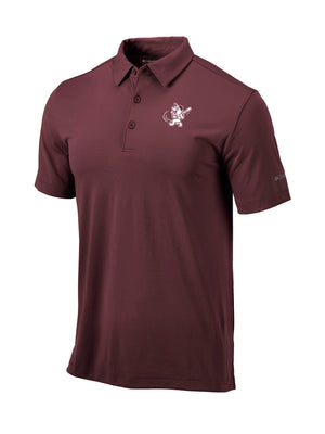Swinging Bully Drive Polo Maroon