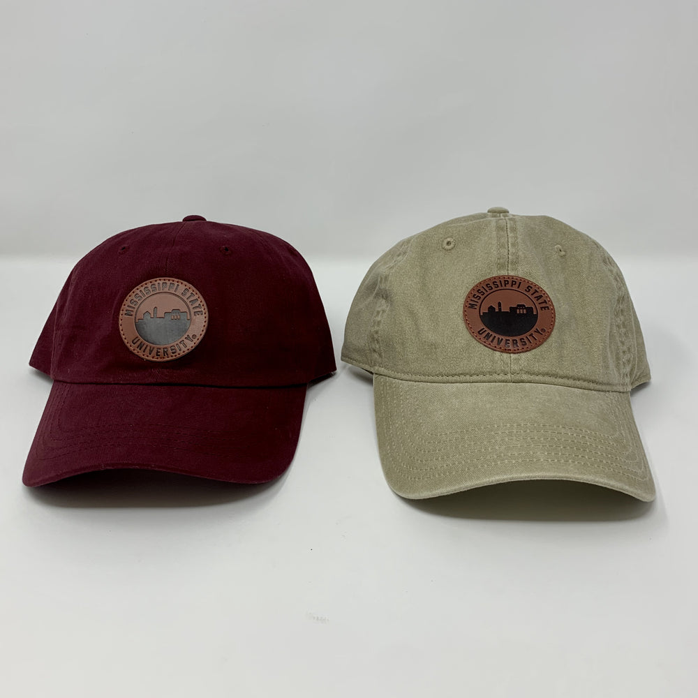 MSU University Skyline Patch Hat
