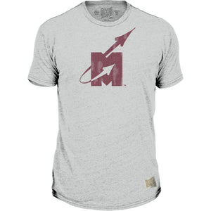 RB Grey SS Flying M Tee