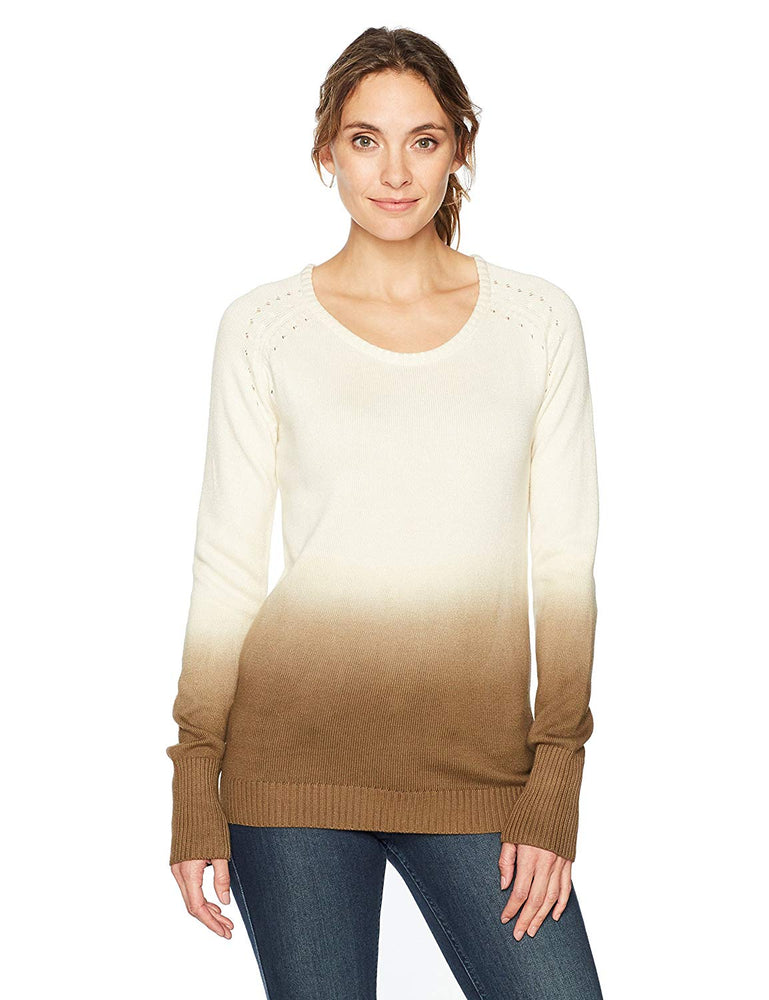 W's Darby Dip Dyed Sweater Cream