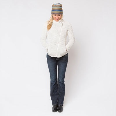 Wmns Wanderlust Fleece Jacket Linen