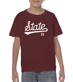 Youth MANGUM State Script Tee