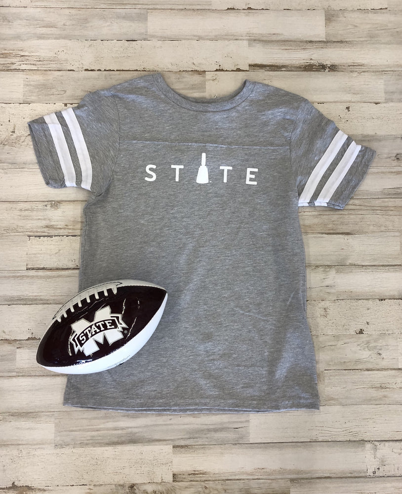 Youth State Cowbell Ringer Tee