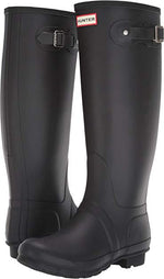 Women's Original Tall Wide Leg Rain Boots - Black