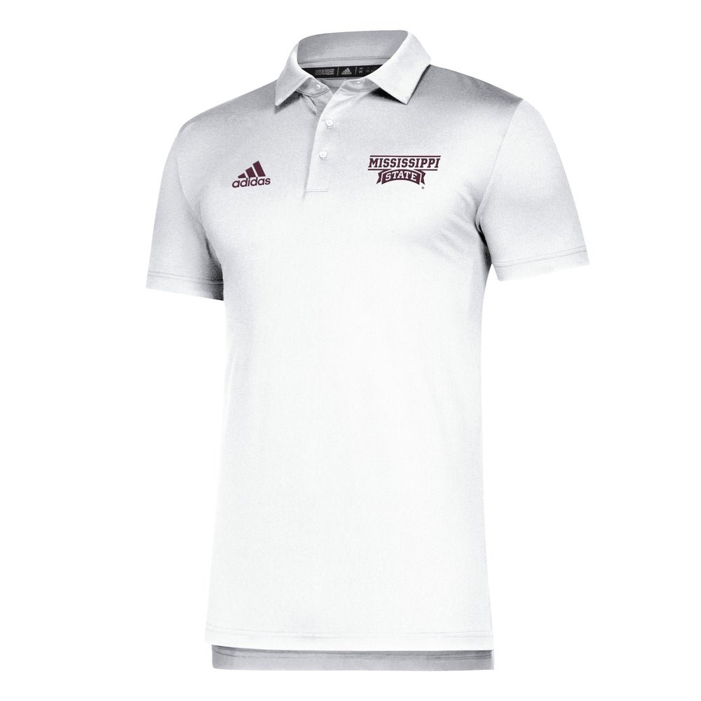 MSU Banner GameMode Polo - White