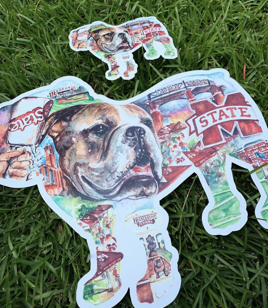 Jumbo Bulldog Collage