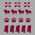 MSU Sticker Sheet