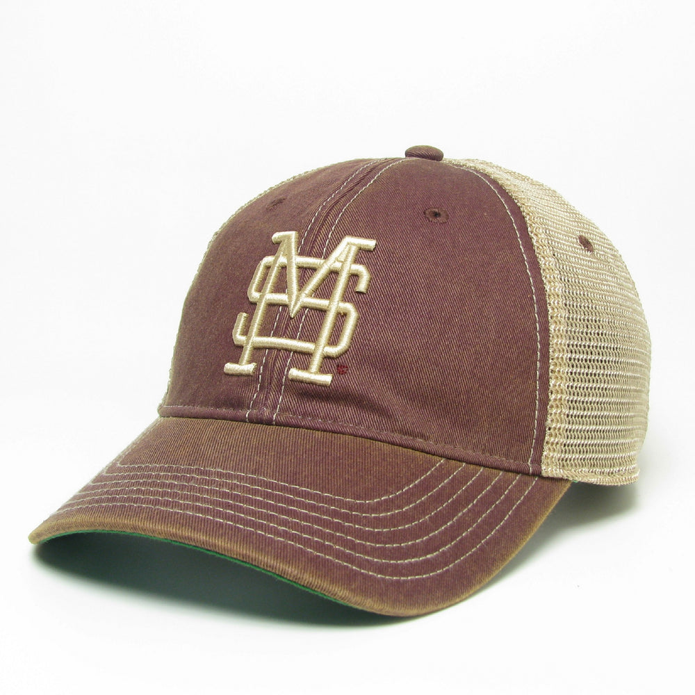Old Favorite Baseball Cap Washed Maroon