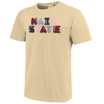 Hail State Bubble Letter Tee